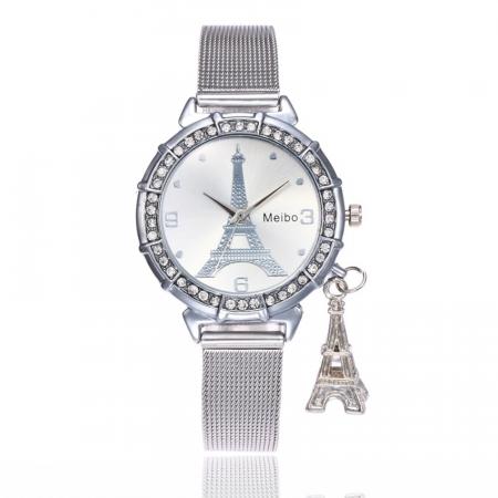 "Sat ""Eiffel"", silver"